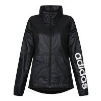adidas阿迪达斯2018新款女子防风休闲运动服梭织夹克外套BR1096