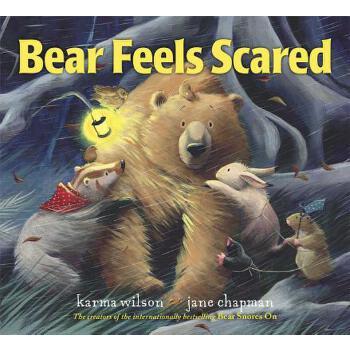 【预订】Bear Feels Scared 预订商品,需要1-3个月发货,非质量问题不接受退换货。