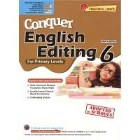 SAP Conquer Editing 6 2019 附赠电子读物 六年级攻克改错系列练习册 12岁 新加坡新亚出版社