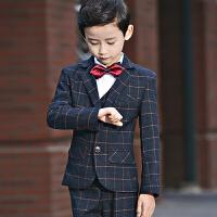 男童套装秋冬韩版小西服 儿童西装花童礼服钢琴演出服主持人外套