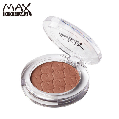 Maxdona21色 单色眼影 盘腮红粉饼