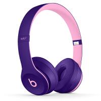 【当当自营】Beats Solo3 Wireless 头戴式 蓝牙无线耳机 手机耳机 游戏耳机 - Pop 紫 MRR