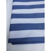 学生宿舍养老院医院用病床床上用品床单被罩三件套蓝白条纹gs定制