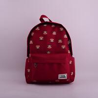 【当当自营】Paul Frank大嘴猴PL0646时尚经典-休闲书包红色  单个销售