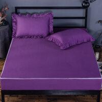 六面全包床笠全棉单件纯棉床罩1.5 1.8m床套席梦思床垫保护套床单