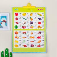 乐乐鱼有声挂图拼音0-3岁点读画板发声挂图早教幼儿儿童启蒙益智