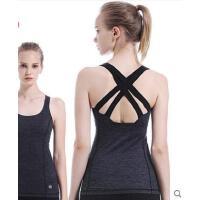 瑜伽服背心女含胸垫吊带新款瑜珈健身运动背心初学者上衣