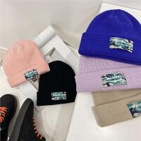 【2件2折】左西男童帽子冬季2021新款儿童针织毛线帽韩版套头帽帅气秋冬
