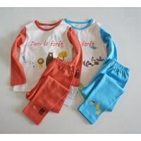 小童纯棉内衣套装 女童/男童 秋衣+秋裤两件套