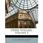 【预订】Opere Volgari, Volume 5