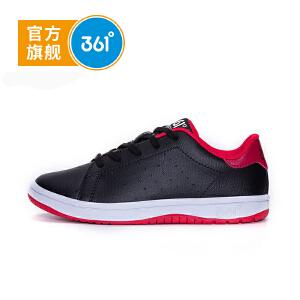 361度童鞋 男儿童运动鞋秋季滑板鞋中大童小白鞋 N71732703