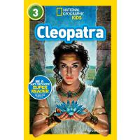 现货 英文原版绘本 National Geographic Kids Level3:Cleopatra **地理分*阅
