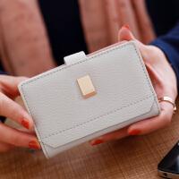 20卡位软面薄款韩版多卡位女式卡包*夹大容量可爱迷你 灰色