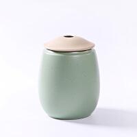粗陶茶叶罐大号陶瓷存储密封醒茶罐红茶普洱礼盒防潮家用通用茶具