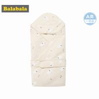 巴拉巴拉婴儿用品保暖睡袋秋装新款宝宝防踢被男童睡袋襁褓