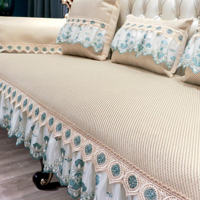 欧式沙发垫夏季防滑冰丝组合套客厅坐垫定做夏天沙发凉席垫   清凉、防滑、不皱、舒适