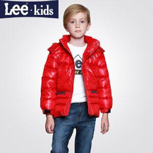 LEE童装  秋冬新款男童时尚休闲中大童儿童加厚羽绒服上衣外套