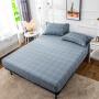 伊迪梦家纺 纯棉单件床笠单品 高密高支全棉床罩 1.2/1.5/1.8m米单人双人床垫保护罩套YJ542