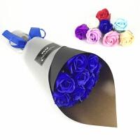 11朵香皂玫瑰花肥皂花束情人节创意礼品浪漫实用红色送女友送闺蜜