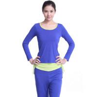 新款 瑜伽服套装 韩版女短袖瑜珈服 健身服跳操服 支持礼品卡支付
