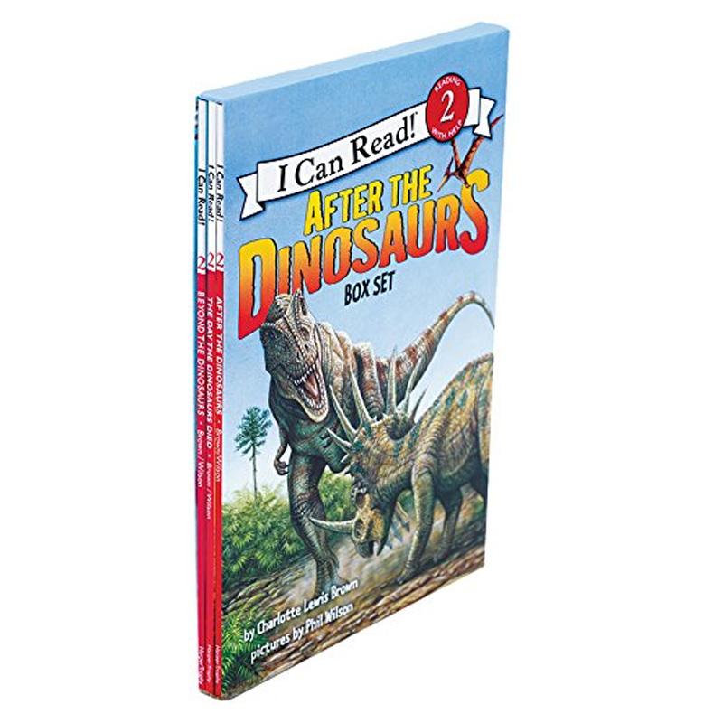 I Can Read: Level 2: After the Dinosaurs Box 恐龙的故事 善本图书 汇聚全球出版物,让阅读改变生活,给你无限知识