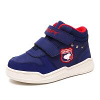史努比童鞋冬季新款儿童棉鞋男童鞋加绒保暖鞋