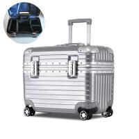 【优选】17寸登机箱小型行李箱男拉杆箱女旅行箱摄影箱子迷你密码箱 17寸(相机功能箱) +内胆包