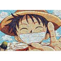 拼图1000片木质路飞卡通动漫航海王平图海报玩具周边
