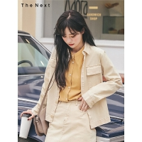 韩版宽松短外套2019秋季新款女学院风百搭牛仔小外套薄款搭配裙子