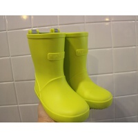 尾单儿童雨鞋超轻环保雨鞋男女童雨靴 L 21厘米内长