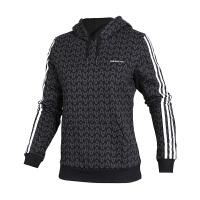 Adidas阿迪达斯 女装 NEO运动休闲连帽卫衣套头衫 CV9143