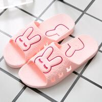 家居拖鞋女夏季新款防滑室内居家用浴室洗澡女士凉拖鞋男夏天