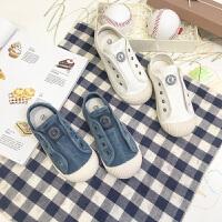儿童帆布鞋2018新款秋季韩版宝宝鞋子小白鞋球鞋板鞋女童男童鞋潮