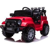 四轮汽车可坐带遥控玩具宝宝童车儿童电动车越野新款吉普