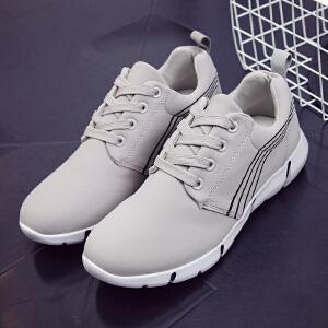 环球 秋季新款板鞋运动休闲潮流平底百搭潮鞋