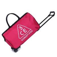大容量手提拉杆包旅行包女拉杆袋行李包男折叠登机箱包旅游旅行袋 大