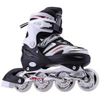 溜冰鞋儿童全套装初学者男女成年旱冰鞋滑冰单直排轮滑鞋