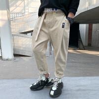 男童裤子潮款新款春秋儿童运动裤个性男孩休闲裤