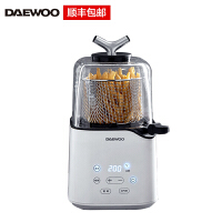 韩国大宇(DAEWOO)空气炸锅 家用无油空气炸杯 薯条机炸鸡翅煎炸锅 K3 白色