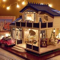模型别墅玩具创意男女教师礼物手工制作diy小屋公主房子