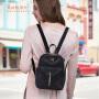 【可使用礼品卡】莱夫牛津布双肩包女韩版帆布休闲百搭迷你包包2017新款尼龙小背包