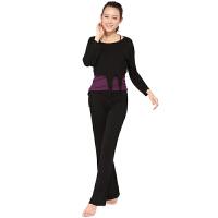 秋冬新款瑜伽服三件套装 韩版瑜珈服愈加舞蹈健身服