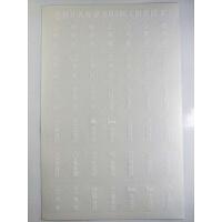 彩色家用开关标示贴透明酒店纸标签防水耐磨插座标识满