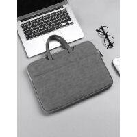 手提包男小米13.3女14寸15.6寸公文包办公文件包苹果笔记本电脑包
