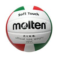 Molten/摩腾 排球 V5VC PVC材质 合成皮革 防水 双层丁基内胆