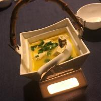 位上陶瓷酒精炉四方蜡烛加热炉酒店餐厅保温鱼翅炖盅特色餐具 四方鱼翅盅