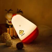 不倒翁USB充电小夜灯卡通床头台灯鸡年创意