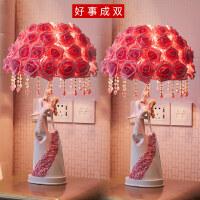 【品牌热卖】创意结婚礼物新婚庆闺蜜卧室订婚房摆件实用*品欧式装饰品台灯