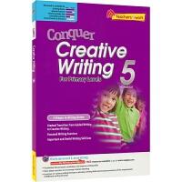 【首页抢券300-100】SAP Conquer Creative Writing 5 五年级攻克创意写作练习册 攻克写