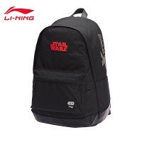 李宁迪士尼星战联名款双肩包男包2018新款背包书包学生运动包ABSC001